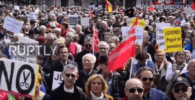 prosvjedi španjolska