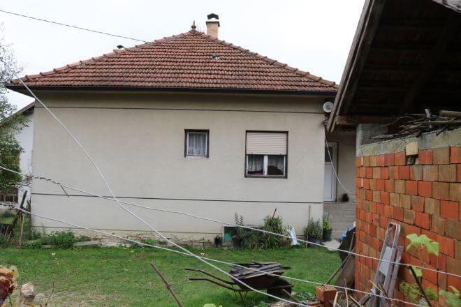 kuća ubijene