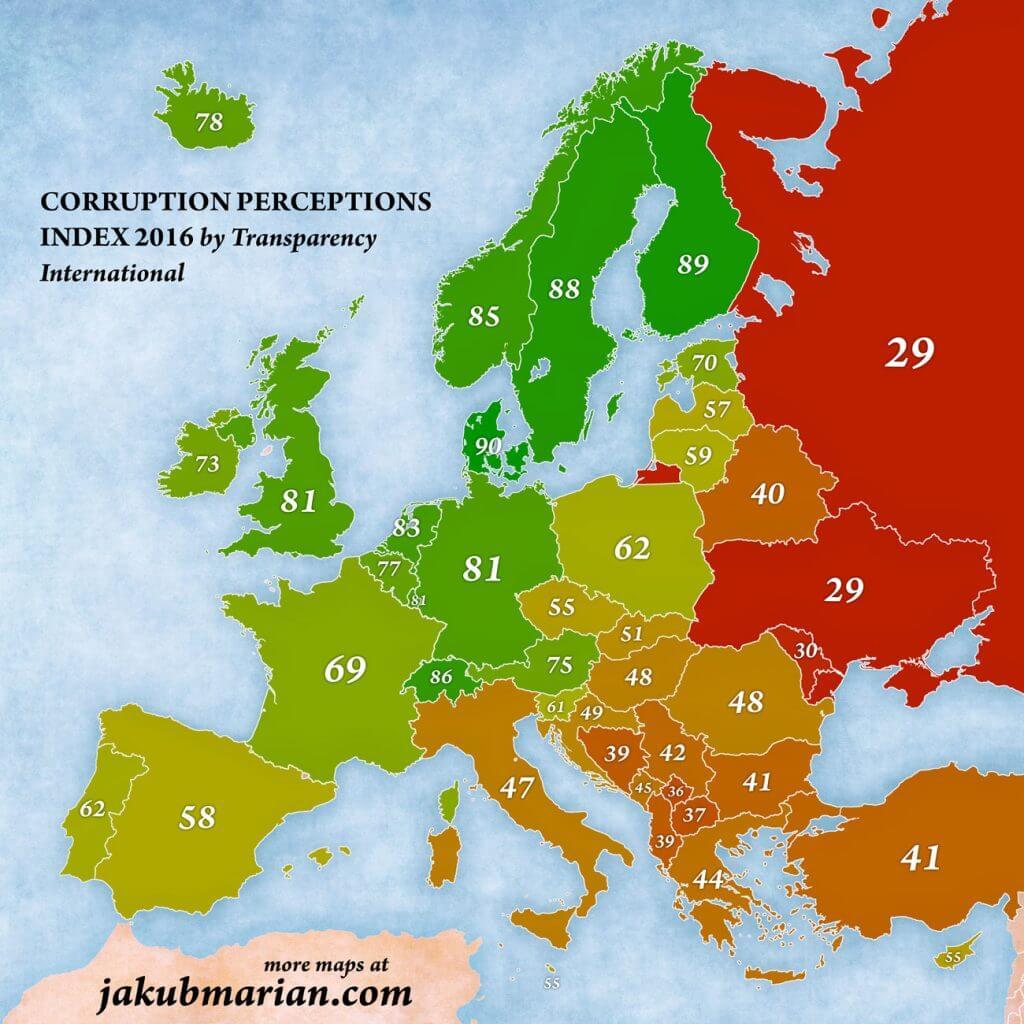 korupcija indeks