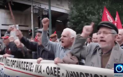 grcka prosvjed