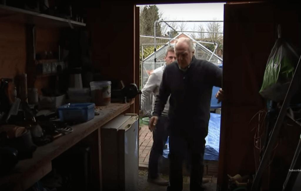umirovljenik šupa