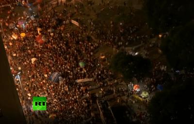 strajk brazil