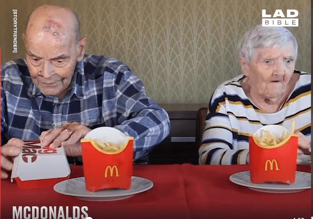 umirovljenik fast food