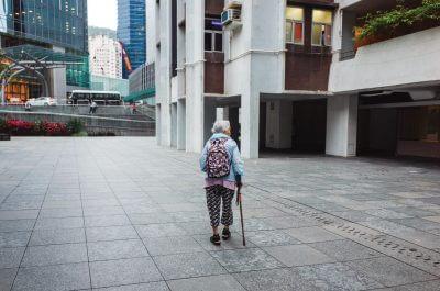 umirovljenica hodanje
