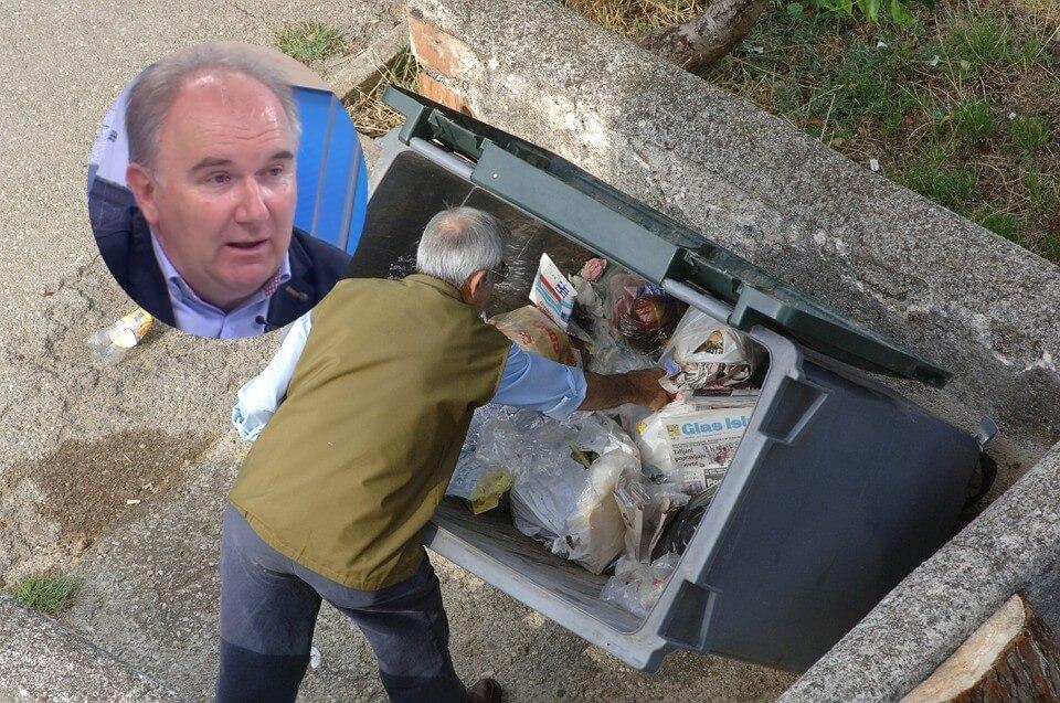 umirovljenici smeće