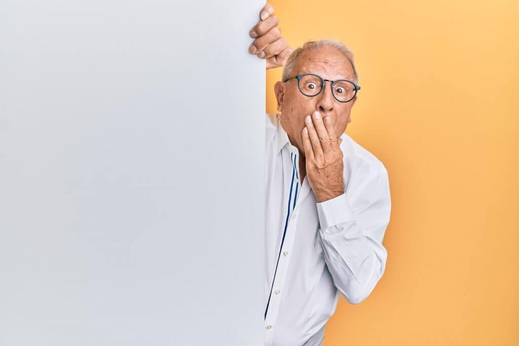 umirovljenik iznenađenje