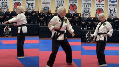 umirovljenica karate